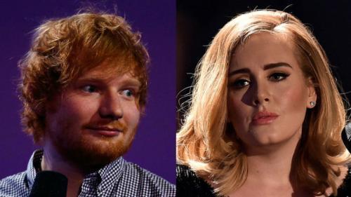 Adele şi Ed Sheeran, printre artiştii britanici care au încasat sume record din drepturi de autor în 2017