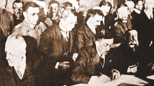 ANUL MARII UNIRI: Tratatul de la Bucureşti din 24 aprilie 1918