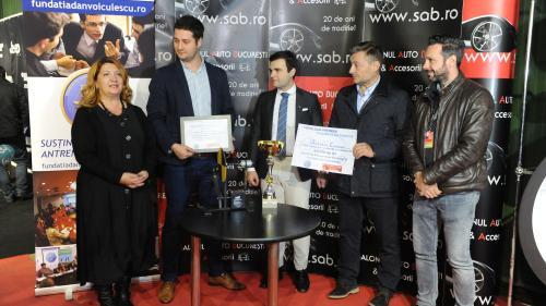 Invențiile au menirea de a ajuta societatea, afirmă câstigătorii SAB