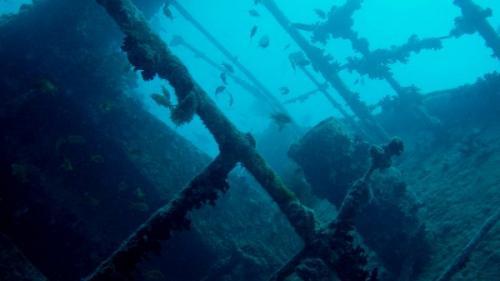 O nava necunoscuta descoperita in apele Australiei!