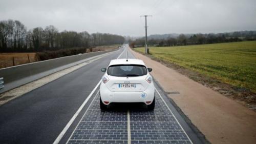 Viitorul este azi. Prima ȘOSEA SOLARĂ din lume a fost construită în Franța