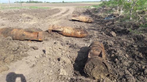 5 bombe din  al Doilea Război Mondial, descoperite în Focșani