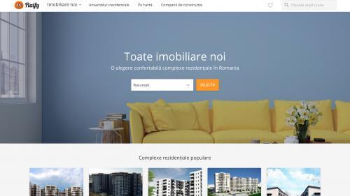 (P) Motorul de căutare Flatfy a lansat un catalog de imobiliare noi: câte locuințe noi se construiesc în România?