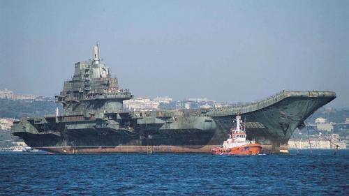 Primul portavion construit de Beijing a început testele pe mare