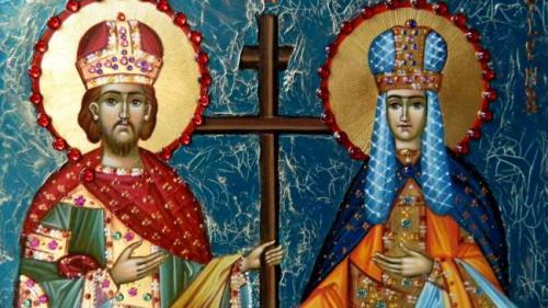Calendar ortodox 21 mai. Milioane de români îşi aniversează onomastica de Sfinţii Constantin şi Elena