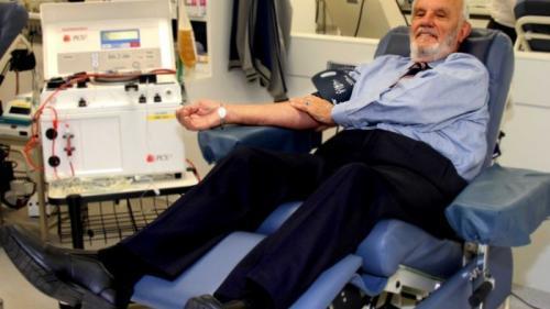 Povesti adevarate: Sangele lui a salvat milioane de vieti!
