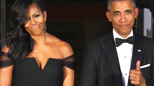 Soţii Obama vor produce pentru Netflix seriale, filme şi documentare