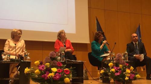 Dancila, Cretu și Plumb discuții cu primarii, la Bacău, despre cum pot fi accesați mai ușor banii europeni, inclusiv direct de la Comisia Europeana