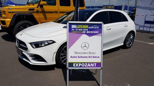 În acest week-end, expoziție Mercedes-Benz la Deva
