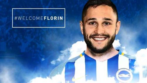 Florin Andone s-a transferat în Premier League