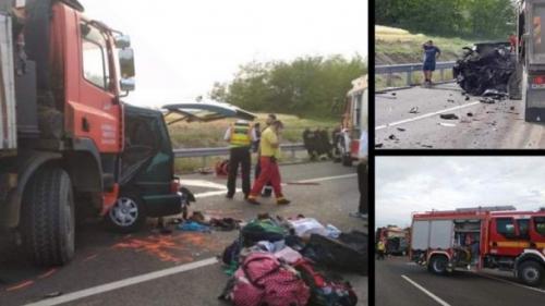 MAE: Trupurile neînsufleţite ale românilor morţi în accidentul rutier din Ungaria vor fi astăzi repatriate