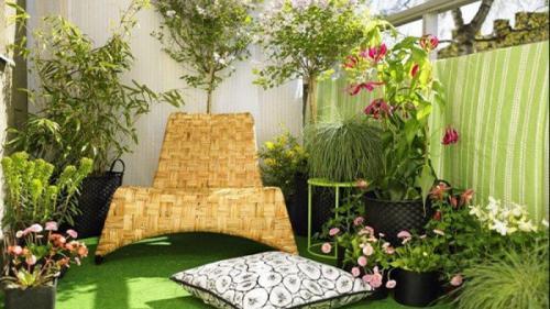 Cum să-ți decorezi mica grădină de pe balcon
