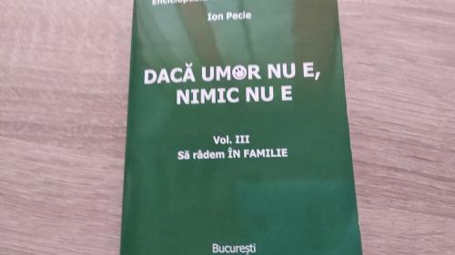 """""""Enciclopedia umorului de buzunar"""", în exclusivitate cu Jurnalul de luni, 11 iunie"""