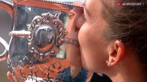Cati bani vor intra in conturile Simonei Halep dupa victoria de la Roland Garros. Fiscul francez retine o suma importanta