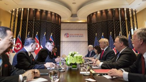 GALERIE FOTO + VIDEO - Intâlnirea istorică dintre Donald Trump și Kim Jong Un. Declarația comună a celor doi lideri