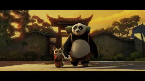 Kung Fu Panda ia cu asalt parcul de distracţii Universal Studios Hollywood