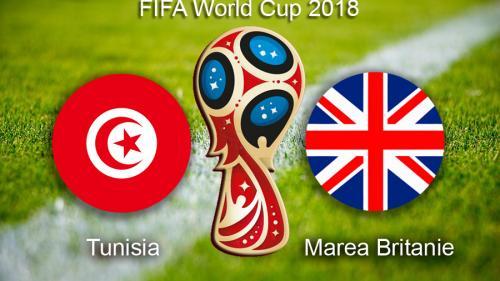 Cupa Mondiala 2018. Tunisia – Anglia.