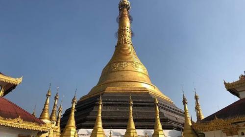 Un celebru monument istoric din Myanmar, distrus de o alunecare de teren