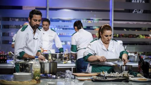 Eliminarea grea pentru chef Dumitrescu:  echipa albastră rămâne în doi bucătari