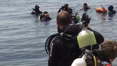 Scafandrii militari au recuperat corpul marinarului dispărut în Dunăre, la Cernavodă