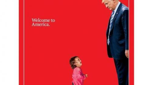 Coperta revistei Times a devenit virală pe internet