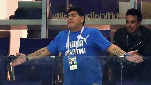 """Cupa Mondiala 2018: Maradona vrea sa salveze """"onoarea"""" Argentinei"""