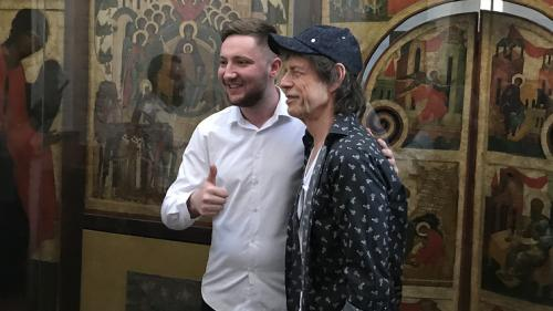 Cupa Mondiala 2018: Cantaretul Mick Jagger a fost la biserica!