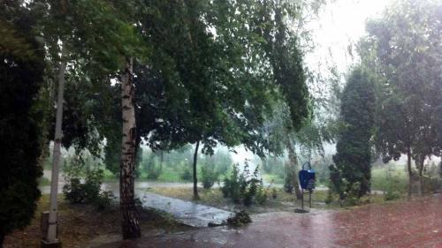 Cod galben de furtună în Sibiu, până la 15:30
