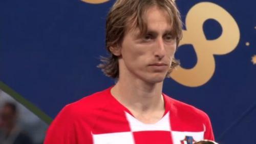 Croatul Luka Modric a fost desemnat cel mai bun jucător al Cupei Mondiale de fotbal din Rusia