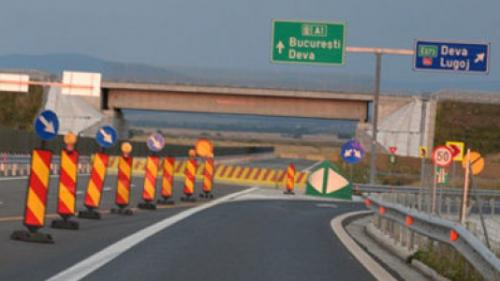 Atenţie şoferi! Autostrada A6 închisă între A1 şi centura municipiului Lugoj, pentru reparaţii