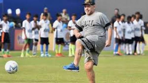 VIDEO - Maradona este noul președinte la clubului Dinamo Brest