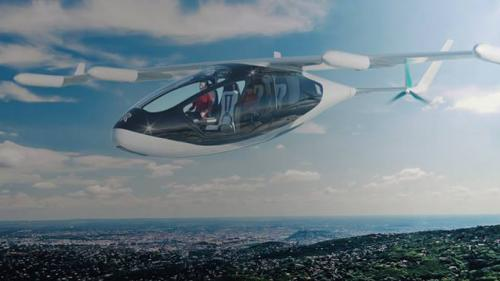 VIDEO Rolls-Royce a prezentat noul sau taxi zburator!