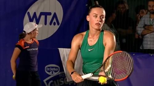 Ana Bogdan, învinsă după un meci maraton la BRD Bucharest Open