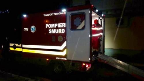 Accident GRAV în Brăila. Un microbuz cu călători s-a ciocnit de un tractor pe DN 21. Traficul rutier este oprit pe ambele sensuri