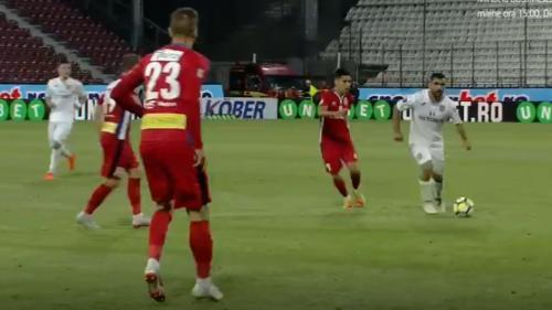 CFR Cluj - FC Botoșani 1-1. Un pas greșit făcut de echipa din Gruia