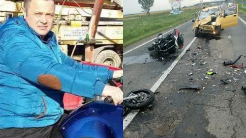 Nouă tragedie pe șosea. Un polițist pe motocicletă a fost spulberat de un autoturism