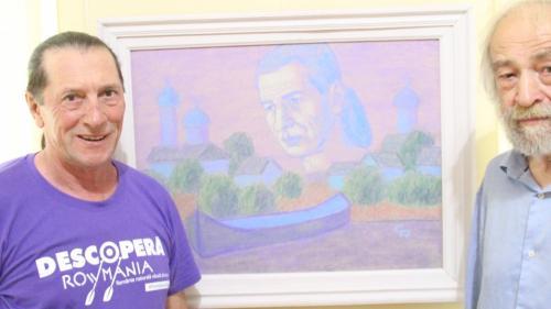 Tablou cu Patzaichin la Muzeul de Artă din Călărași