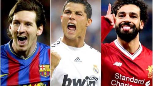 Messi, Ronaldo şi Salah, nominalizaţi la titlul de cel mai bun atacant al sezonului în Liga Campionilor