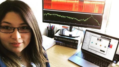 O chiliancă a pus la punct un sistem de comunicare fără internet și semnal la telefon