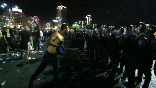 160 de jandarmi au acționat în timpul protestelor din 10 august