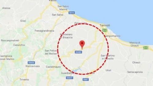 UPDATE - Un cutremur de suprafață de 5,3 grade pe scara Richter a zguduit sud-estul Italiei