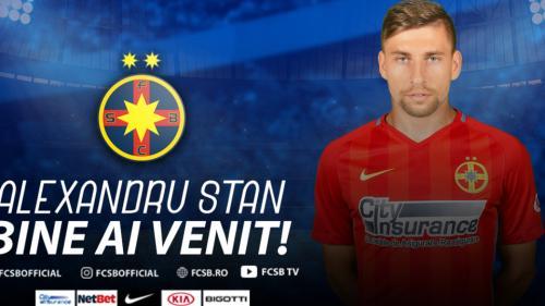 Fundașul Alexandru Stan s-a transferat de la Astra Giurgiu la FCSB. Mutarea s-a decis la 2 noaptea