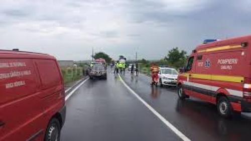 Cinci persoane rănite într-un accident rutier produs pe centura orașuli Caracal