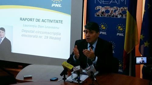 Leoreanu: Somăm Guvernul PSD - ALDE să respecte promisiunile pe care le-a făcut