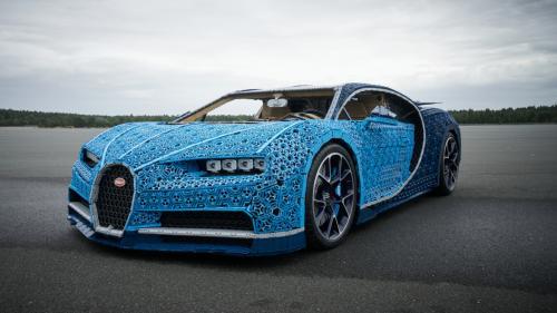 VIDEO. Bugatti Chrion din piese de Lego, un cadou pentru copiii mari