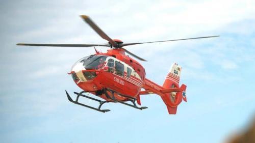 Intervenție a elicopterului SMURD după ce un copil a rămas înfipt în gardul unei școli din Negru Vodă.
