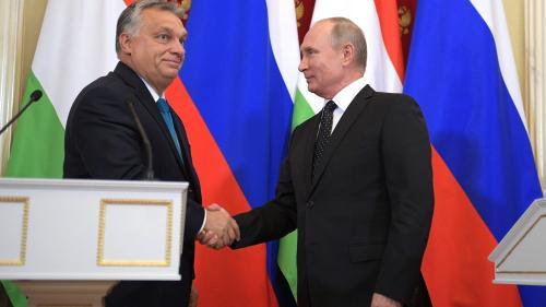 Putin și Orban, într-o alianță solidă