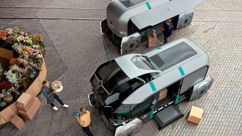 VIDEO. Renault a prezentat utilitara viitorului: EZ-PRO