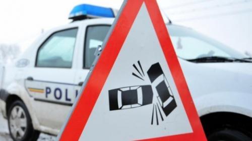 Accident pe DN 1A, în Mogoşoaia. Circulatie intrerupta