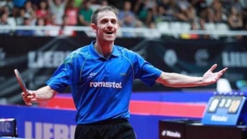Ovidiu Ionescu a luat argintul la Campionatul European de tenis de masă